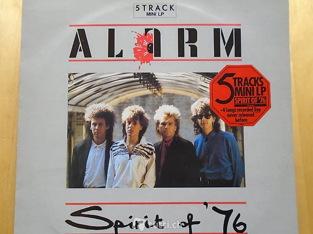 Alarm, EP Vinyl, Schallplatte