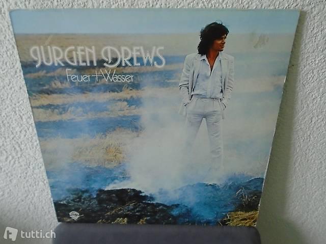 Jürgen Drews, Vinyl, Schallplatte