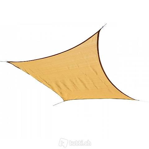 Vela solare 7,3 x 7,3 m beige (Consegna gratuita)
