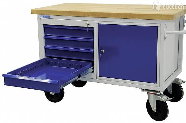 Tischwagen 4 Schubladen + 1 (Gratis Versand)