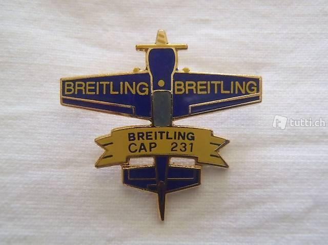 Breitling Pin, Flugzeug, Rar, Sammeln, neu