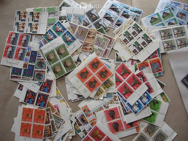 Briefmarken Pro Patria 4er 100 Franken