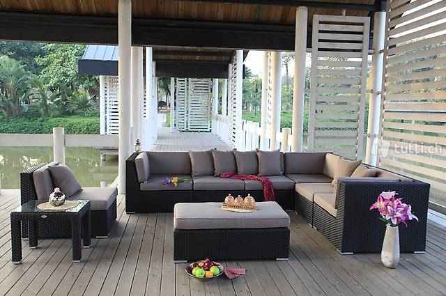 Salon de jardin moderne brun in Waadt kaufen - Viplounge ...