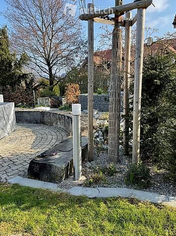 Garten-Stehleuchte Edelstahl 90 cm