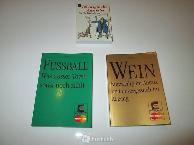 Büchlein über Fussball, Wein und Originelle Ausreden (694)