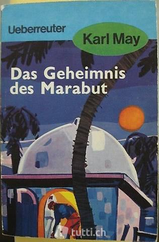 """Taschenbuch """"Das Geheimnis des Marabut"""" von Karl May"""
