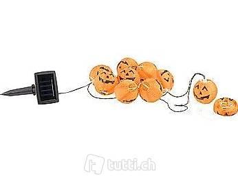 Solar-Lichterkette im Halloweenlook