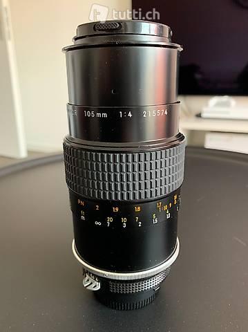 Objektiv Nikon Micro-Nikkor 105mm f/4
