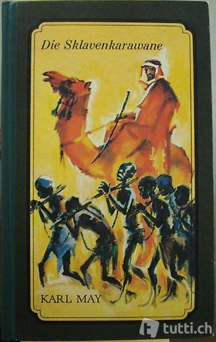 """Buch """"Die Sklavankarawane"""" von Karl May"""