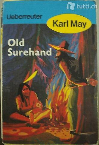 """Taschenbuch """"Old Surehand"""" von Karl May"""