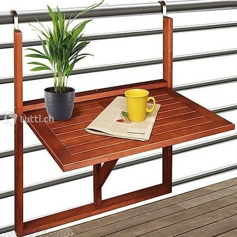 Tavolo da balcone in acacia - (Consegna gratuita)