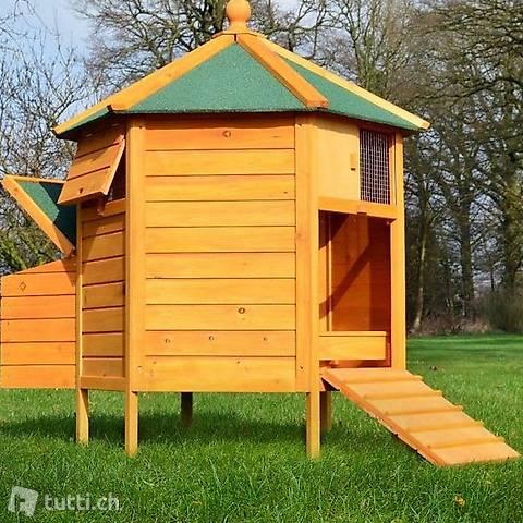 Hühnerstall Hühnervoliere Pavillon (Gratis Lieferung)