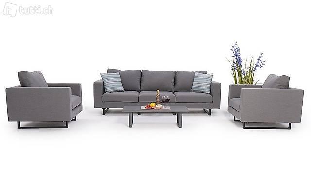 Meubles lounge extérieur - Salon de Jardin 5-6 places in ...