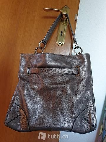 Handtasche Rindsleder