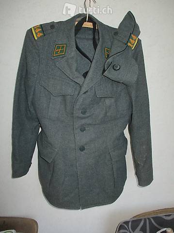 Uniform Schweizer Armee Ausgänger Füsilier armée suisse
