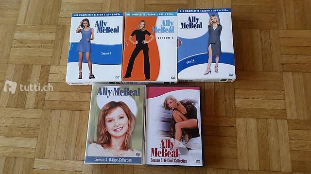 Ally McBeal Serie auf DVD
