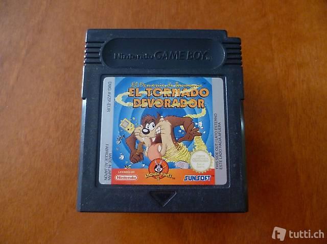 Taz: El Tornado Devorador - Nintendo Game Boy