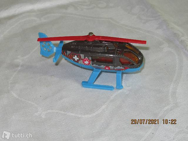 MATCHBOX 2001 MATTEL INC. RESCUE HELICOPTER