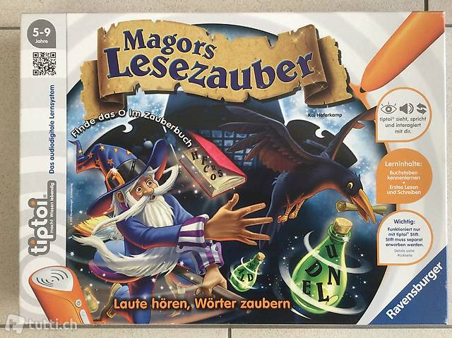 Tiptoi Spiel Magors Lesezauber