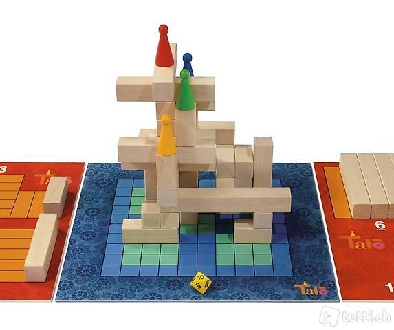 Talo jeu de société (dé et construction)