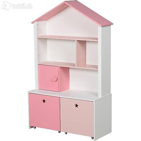 Kinderregal Bücherregal für Mädchen (Gratis Lieferung)