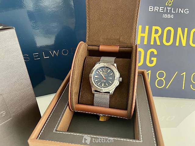 Breitling COLT 44mm Automatic REF. A17388 full set