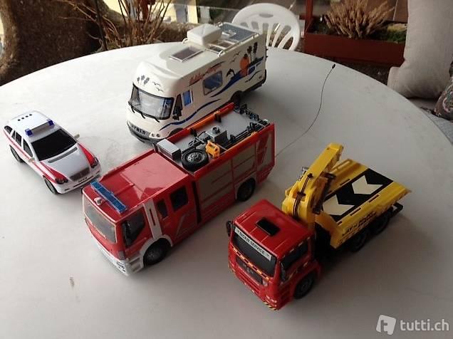 Camion gru / Roulotte / Camion pompieri