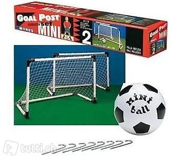 Mondo Goal-Set 2 Stk. Ball+Heringe