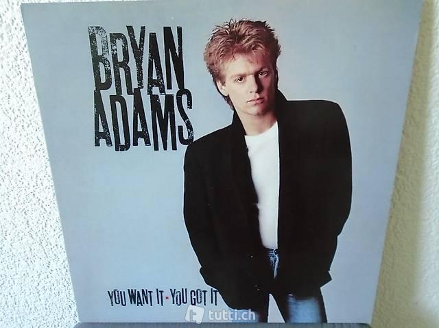 Bryan Adams 2, Vinyl