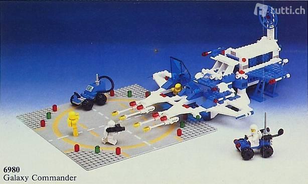 Lego 6980 Galaxy Commander (1983)