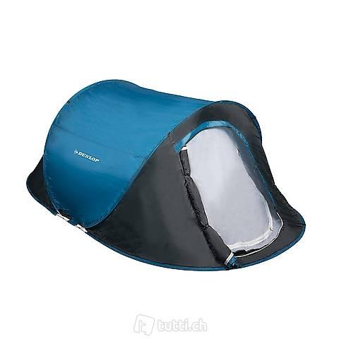 Tenda da lancio Dunlop per 2 persone (Consegna gratuita)