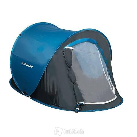 Tenda da lancio Dunlop per 1 persona (Consegna gratuita)