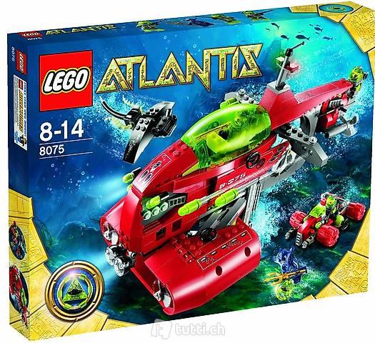 Lego Atlantis 8075 Neptuns U-Boot NEU/OVP