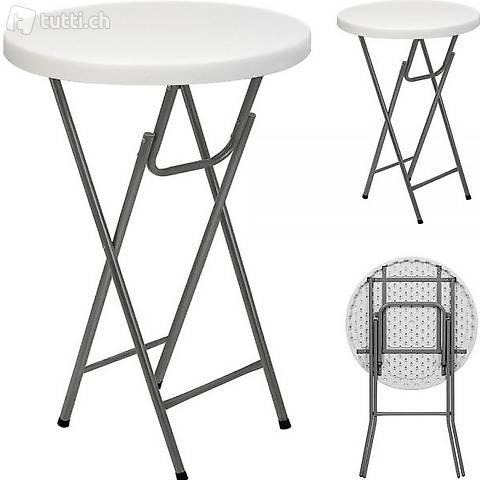 Tavolo da bistrot tavolo alto Ø 80cm (Consegna gratuita)