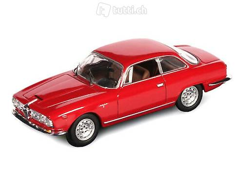 NEU: Alfa Romeo 2600 Sprint 1962-1966 rot  1:43 von M4