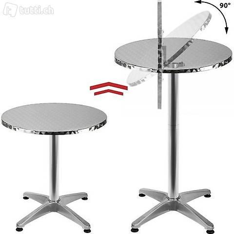 Tavolo da bistrot in alluminio con (Consegna gratuita)
