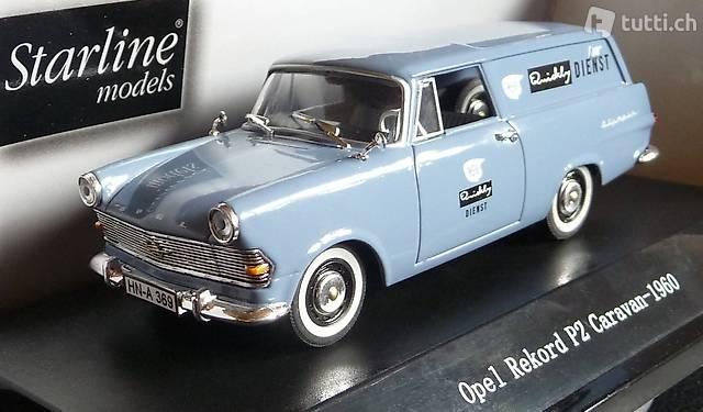 """NEU: Opel Rekord P2 Caravan 1960-1963 """"NSU Quickly Dienst"""