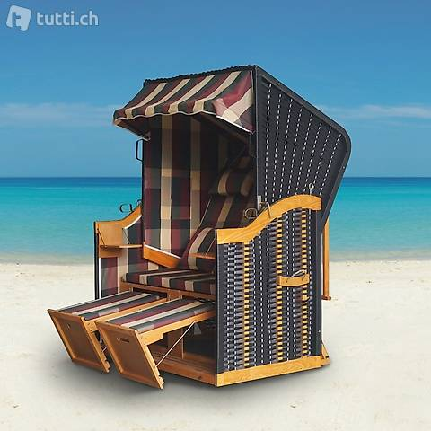 Sedia da spiaggia, strisce colorate (Consegna gratuita)