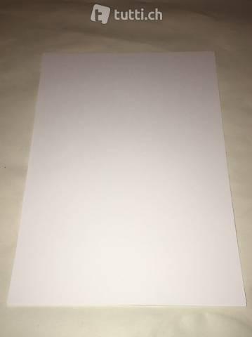 Malpapier Zeichenpapier weiss A4 120g