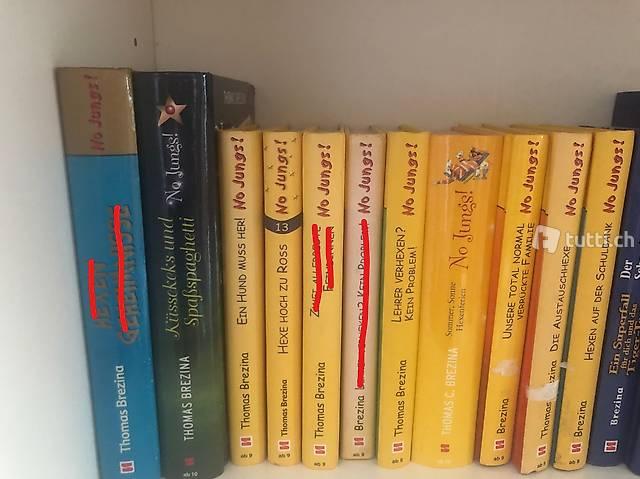 Diverse No Jungs! Bücher von Thomas Brezina