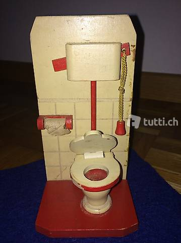 Vers. Bademöbel für Puppenspielzeug