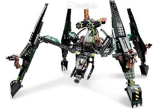 Lego Exoforce 7707 Striking Venom, gigantisch!