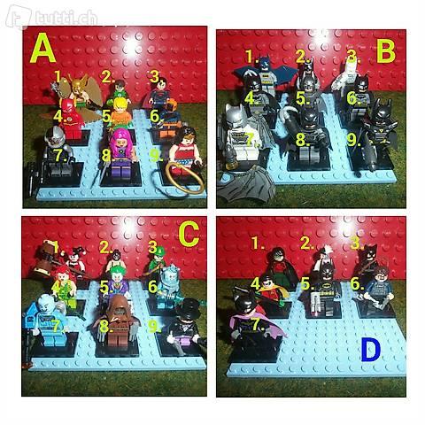 Lego Marvel & DC Figuren, einzeln - echtes Lego