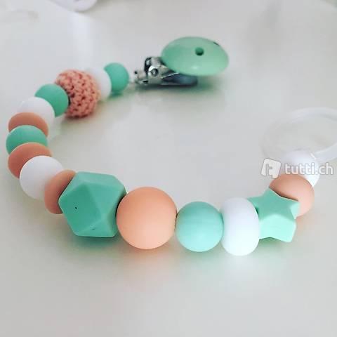 Silikon Nuggikette für Mädchen