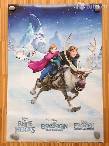 Poster, beidseitig bedruckt. Die Eiskönigin / Arlo & Spot