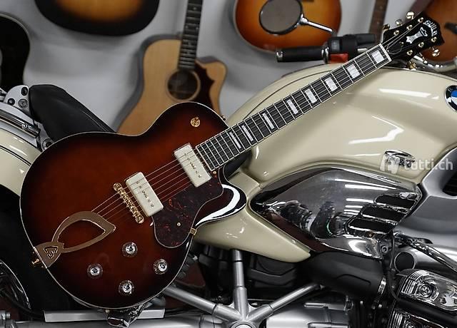 E-Gitarre Guild Aristocrat P90 Vintage Burst
