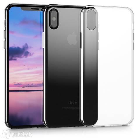 Portofrei Iphone X Silikon transparent Cover case