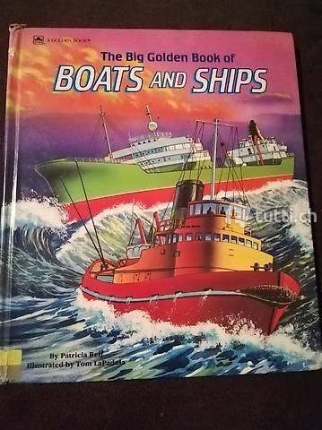 Boats and ships Englisch Book