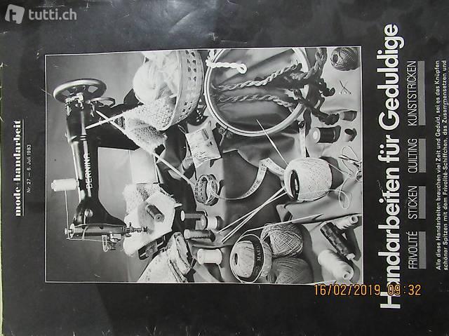 Mode + Handarbeit, von Meyers Modeblatt 1983