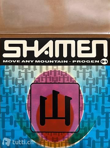 7 Zoll Vinyl Schallplatte - Shamen: Move any mountain